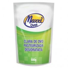 Clara de Ovo Pasteurizada e Desidratada (Albumina Natural) - 500G - Maxxi Ovos